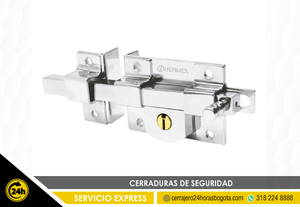 Instalacion de cerraduras de seguridad