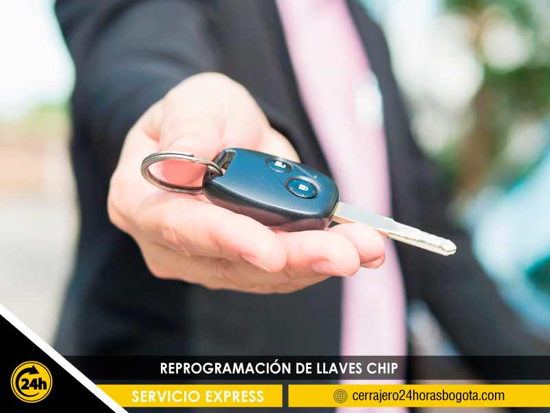 llaves transponder con chip
